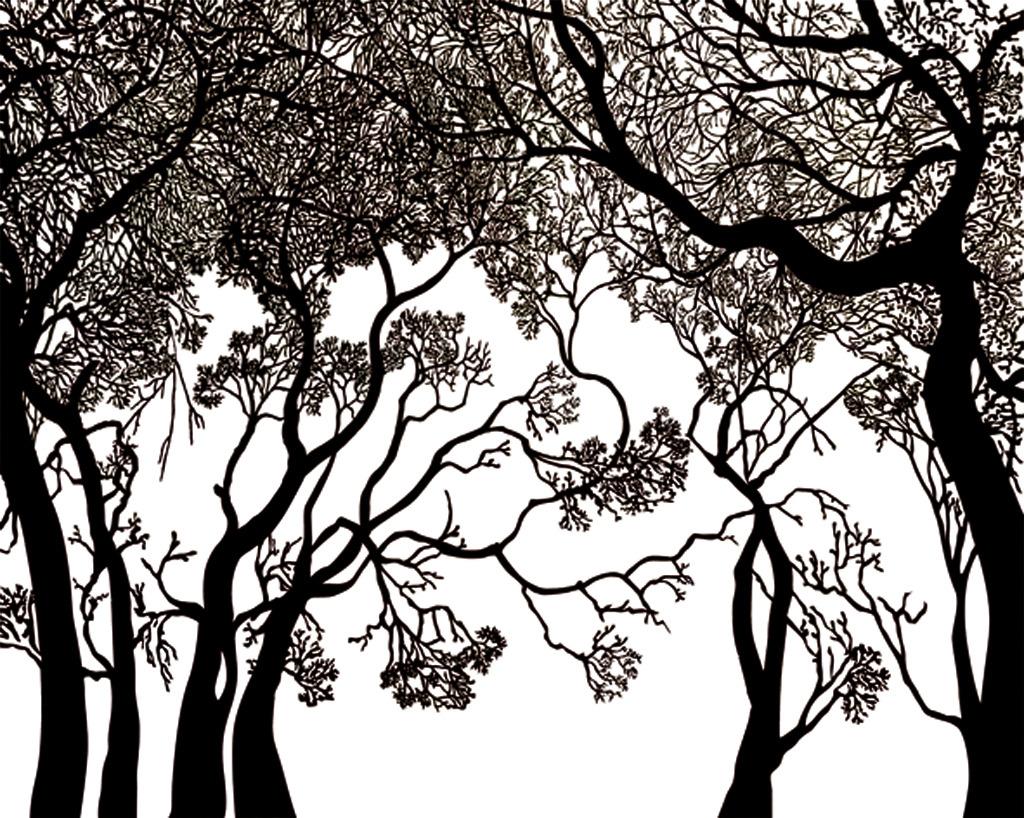 音乐树手绘