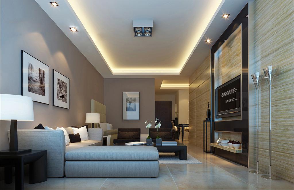 现代家装卧室3d模型模板下载图片下载