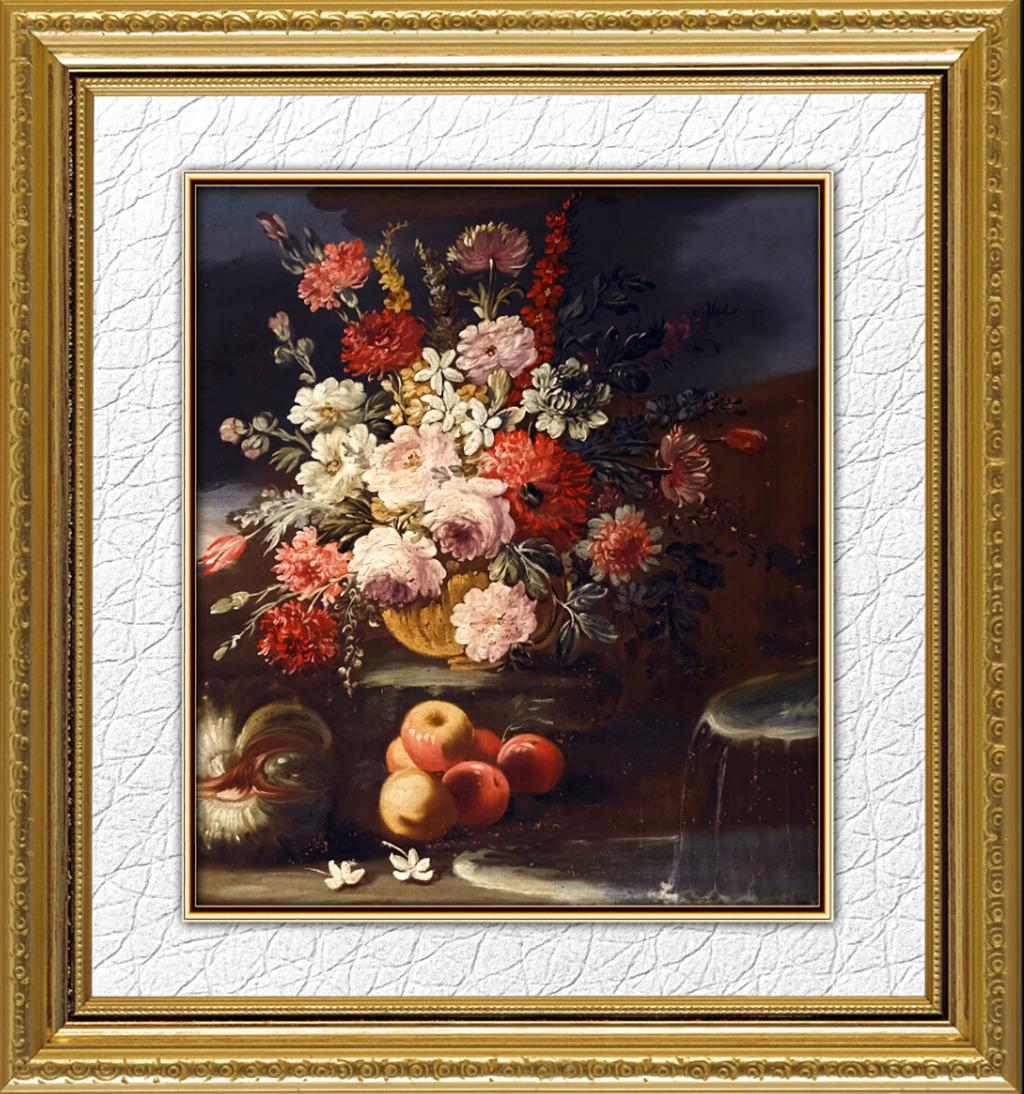 欧式花卉油画艺术高清图片下载(图片编号12614087)图片