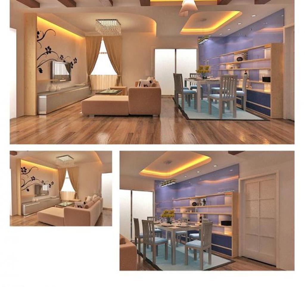 家装 酒柜      墙绘 家装 客厅及餐厅效果图      餐厅        装修