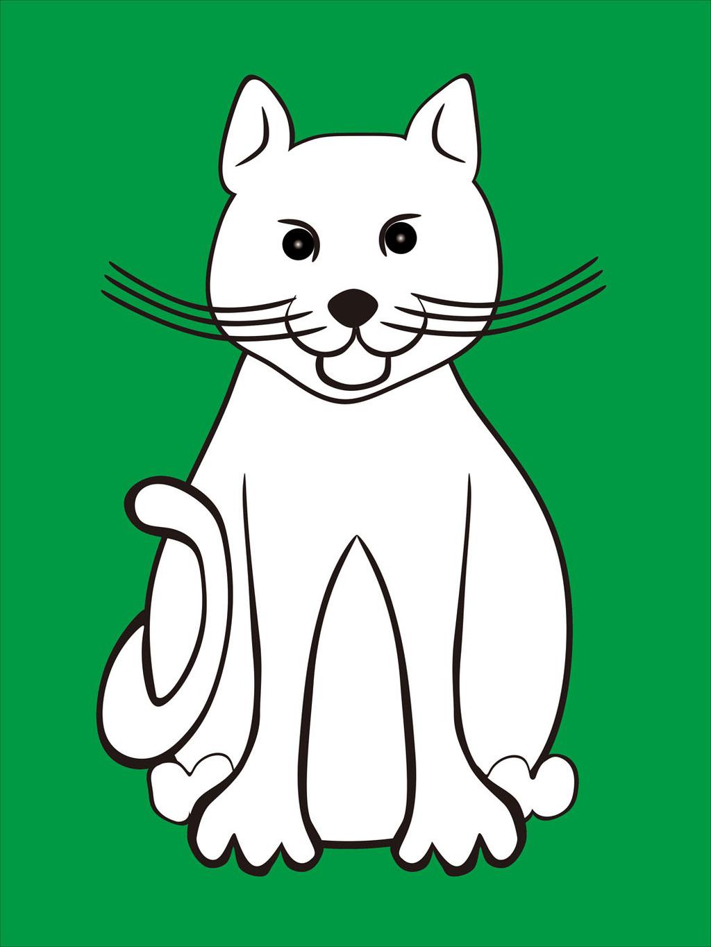 猫活体纸模图纸