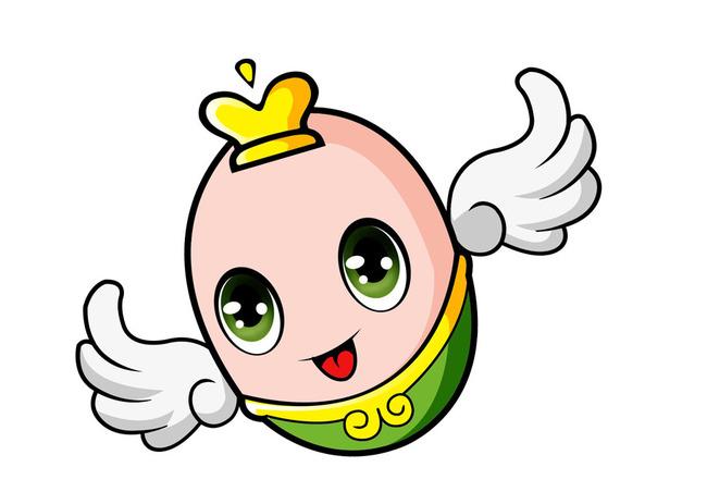 逼囹�$9.�_平面设计 其他 插画 元素 卡通 > 可爱飞蛋卡通形象设计  :9我图币