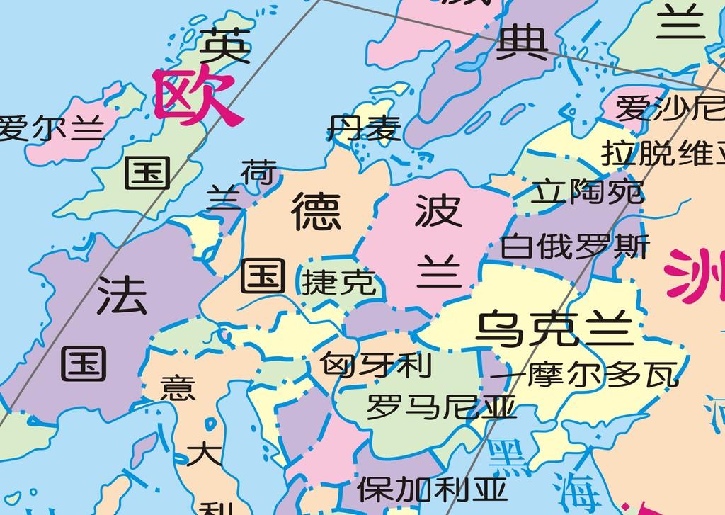纯矢量图世界地图和cdr矢量图中国地图模板下载