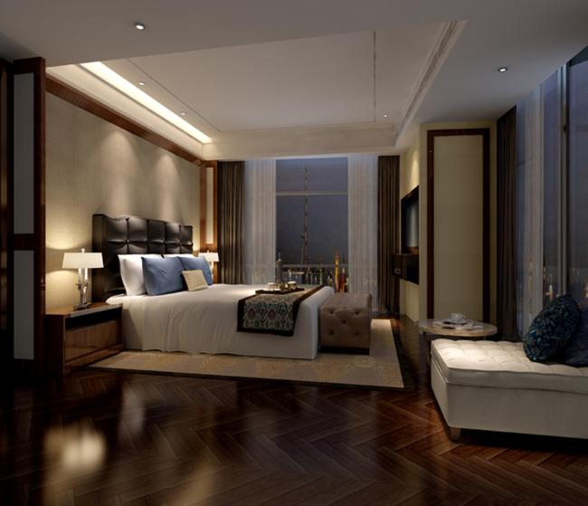 3dmax效果图模型中式风格卧室图片