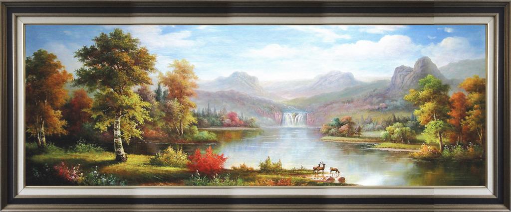 油画风景装饰画高清图片下载(图片编号12633377)风