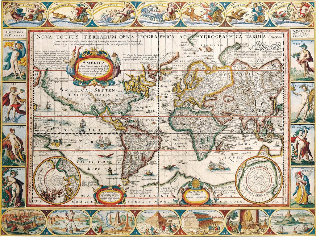古老的世界地图