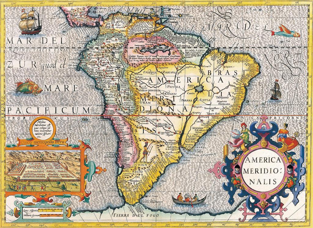 古旧的世界地图11