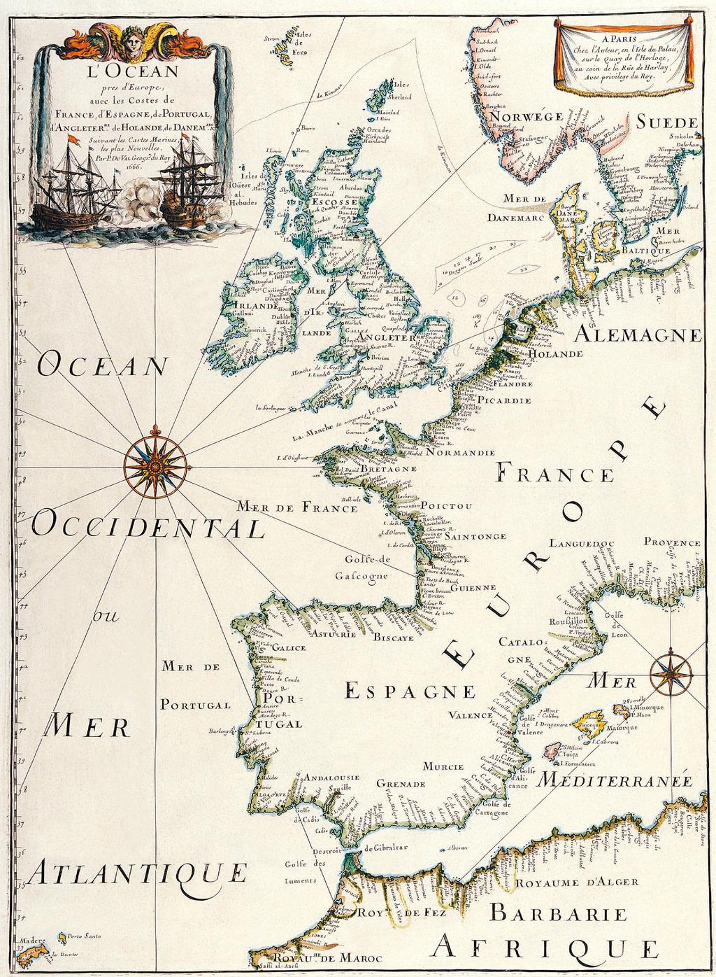 古旧的世界地图4