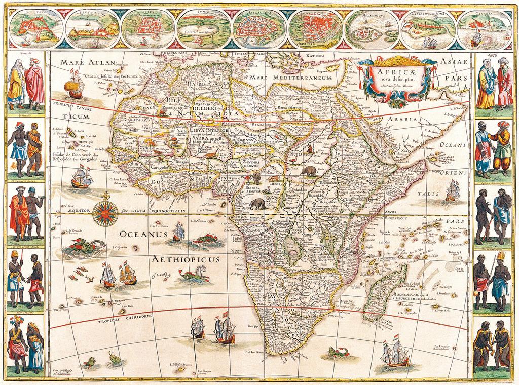 古旧的世界地图2