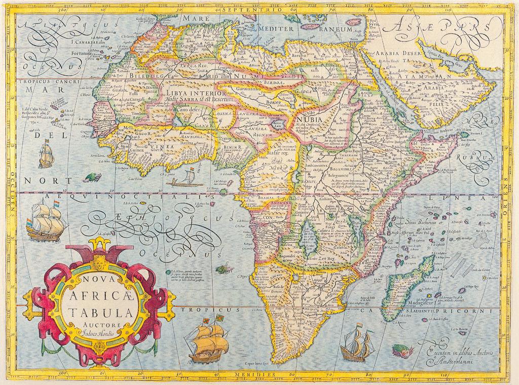 古旧的世界地图1