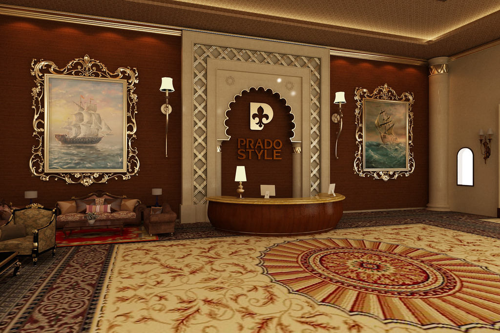 豪华欧式大堂设计模板下载(图片编号:12646293)图片
