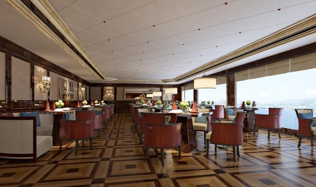 3dmax欧式餐厅模型图片下载石膏板吊顶