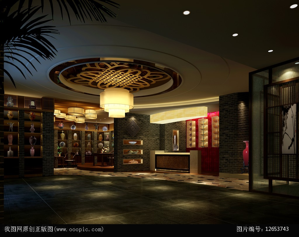 3dmaxspa大厅空间图片下载图片