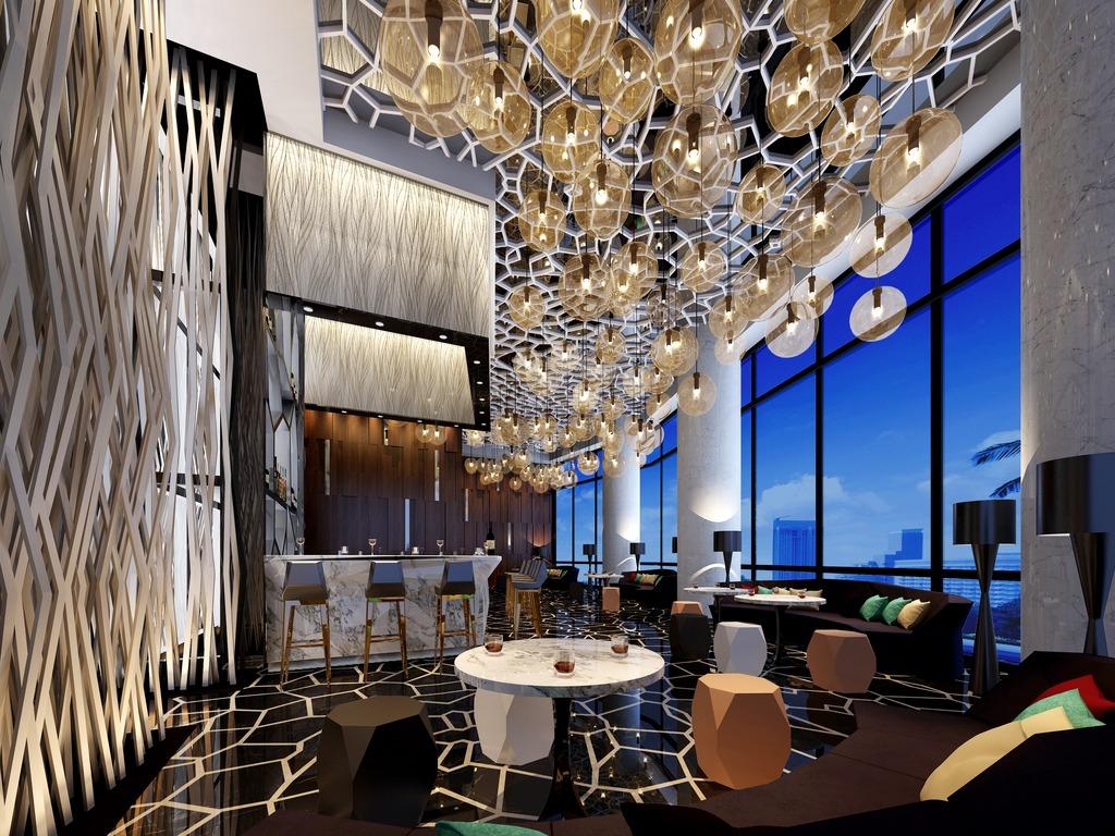 豪华奢侈酒吧3d效果图模型模板下载(图片编号:)