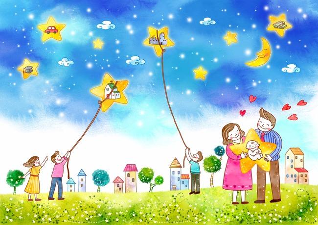 幼儿园画报 文明礼仪卡通 环保科技画 儿童画背景墙 幼儿园小报