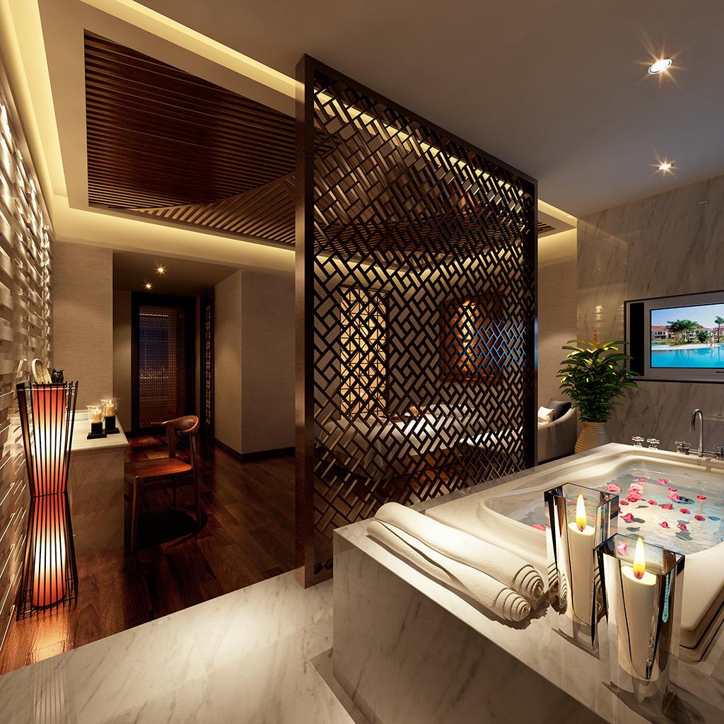 3d模型 室内设计3d模型 家装模型 > 酒店套房3d模板加灯光贴图  下一