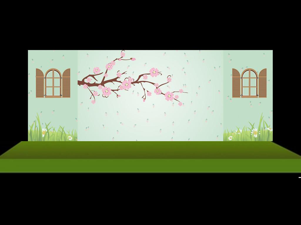 平面设计 舞台背景 婚礼舞台背景 > 田园风婚礼迎宾区背景设计  下一