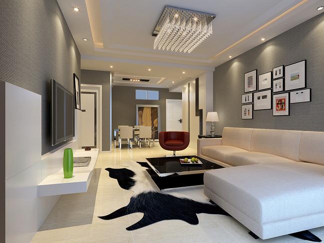 室内装修3d模型下载现代风格3d模型