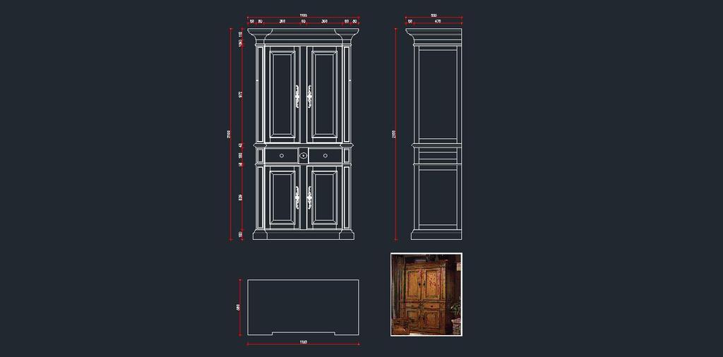 欧式衣柜cad下载模板下载(图片编号:12669727)