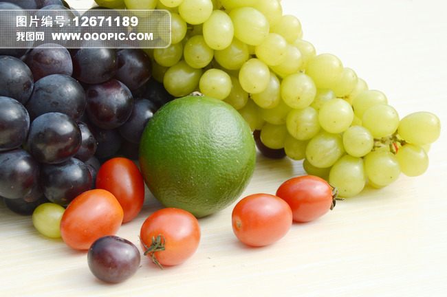 一堆水果图片