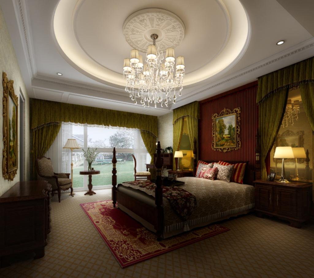 3dmax欧式风格卧室模型素材2图片