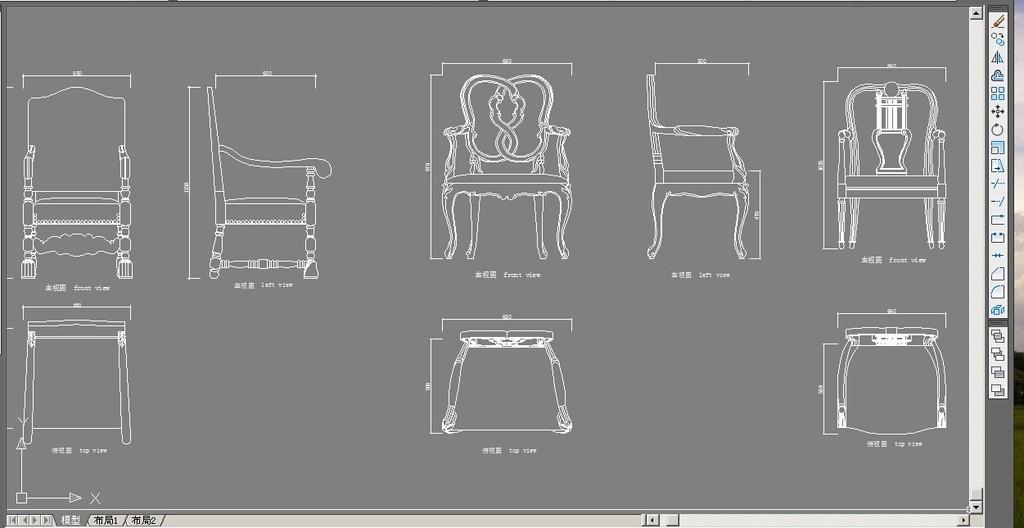 欧式三人沙发单人沙发类