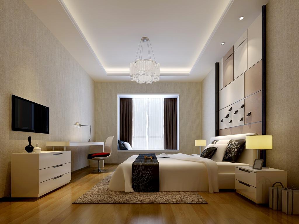 3dmax卧室模型素材现代风格图片