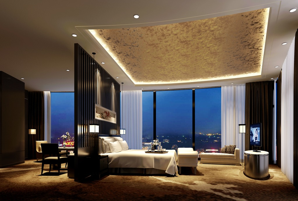 室内3d模型 > 3dmax现代简约卧室模型素材图片