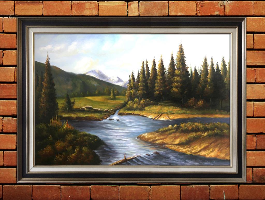 下一张> 风景油画山水模板下载 风景油画山水图片下载 油画