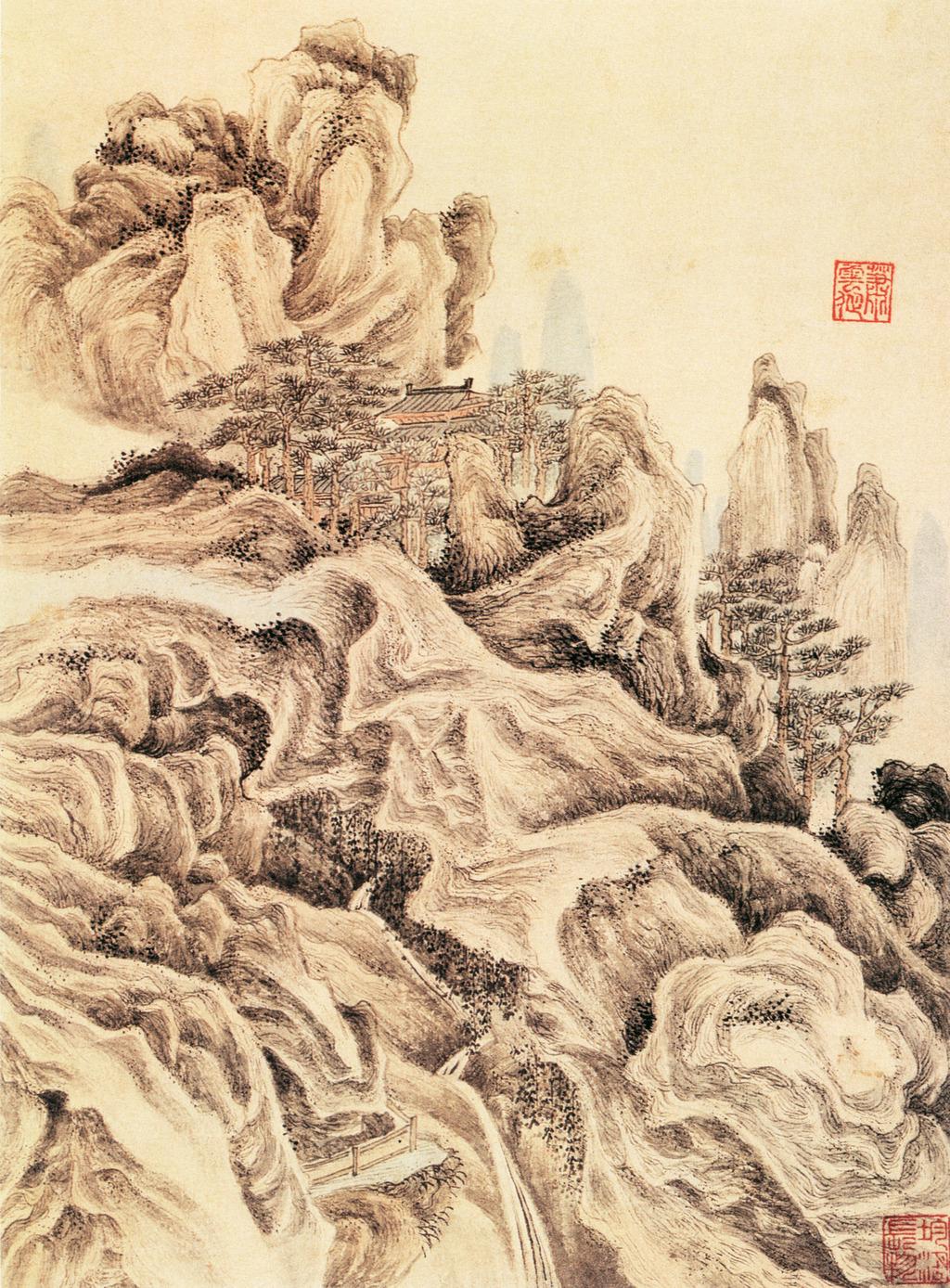 高清国画山水画高清图片下载(图片编号12681755)