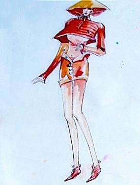 服装设计图