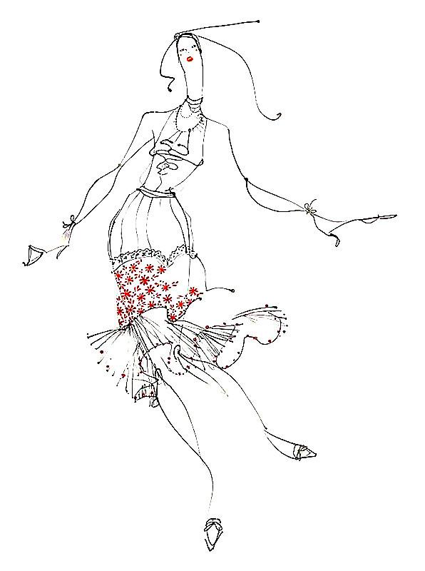 服装设计手稿1模板下载(图片编号:12684905)_裙子设计