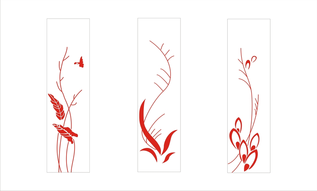 古典藤蔓花纹_黑白藤蔓花纹素材_哥特式藤蔓花纹_亿库
