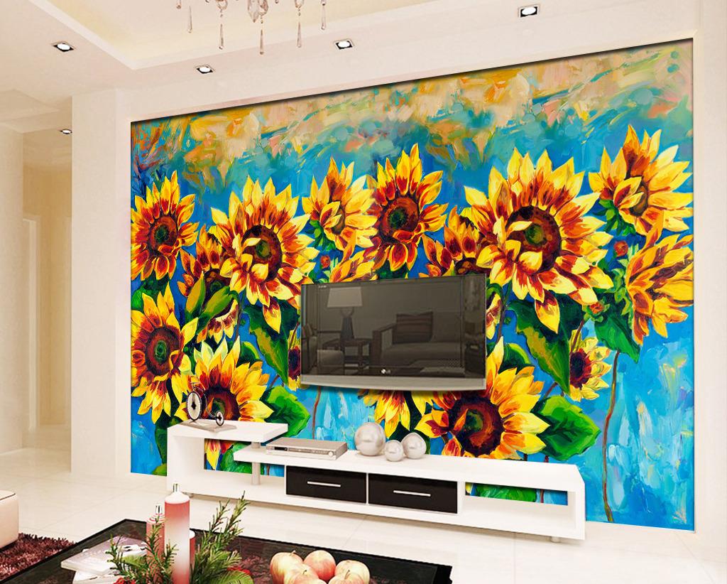 手绘背景墙电视背景墙沙发背景墙墙纸墙绘 墙贴 墙纸图案 墙绘图案