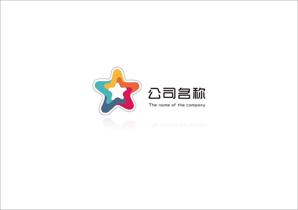 传媒娱乐企业logo模版模板下载