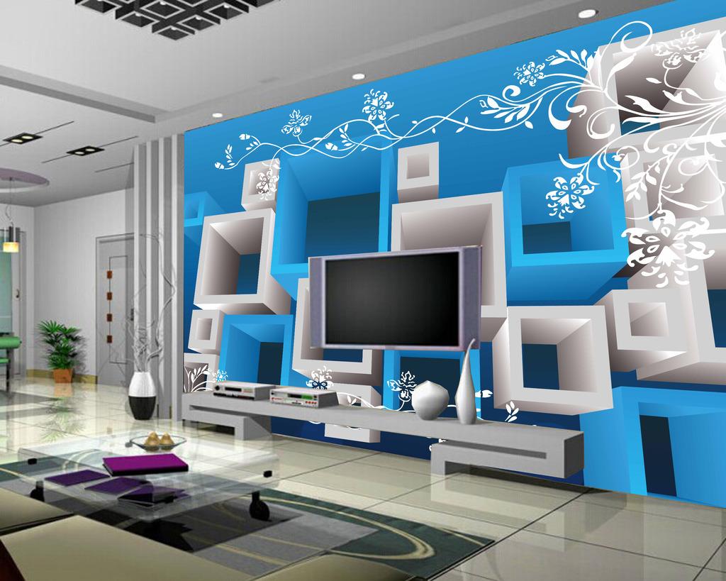 客厅背景墙3d壁画