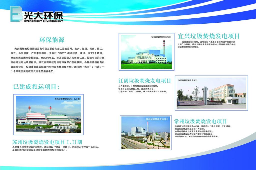 光伏发电企业系列展板宣传栏