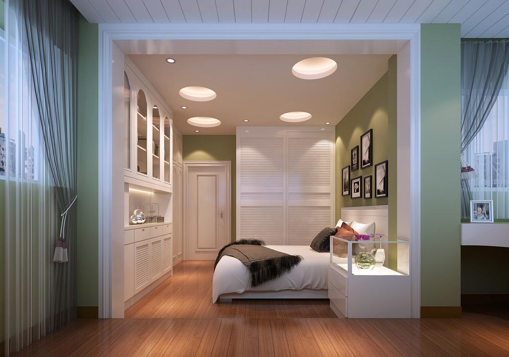 欧式天使白房间装修设计模板下载 欧式天使白房间装修设计图片下载