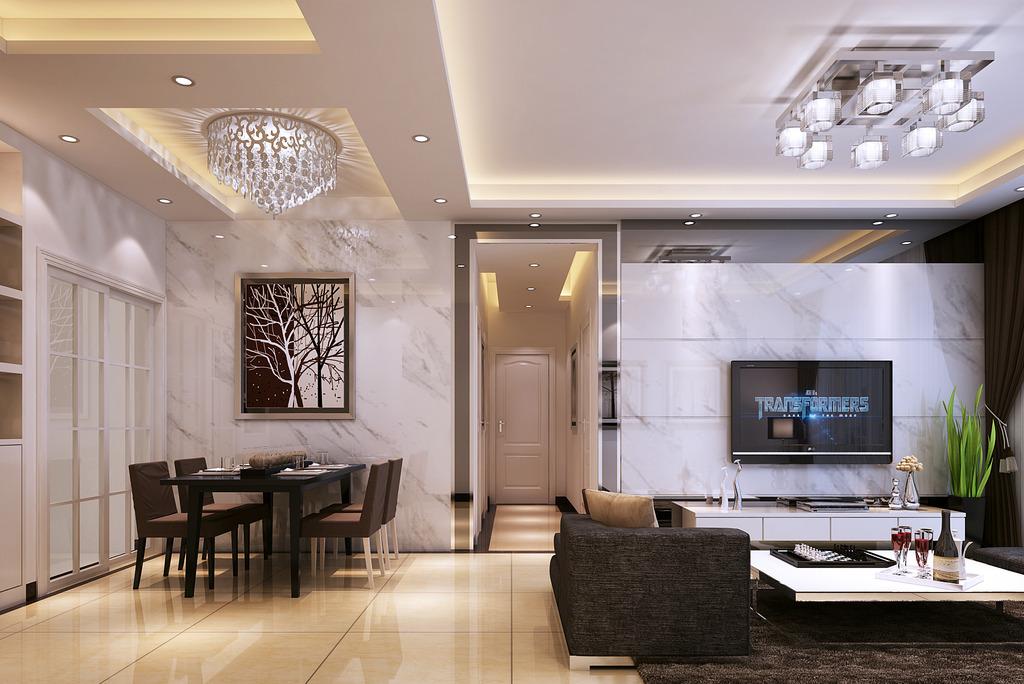室内设计 3d效果图