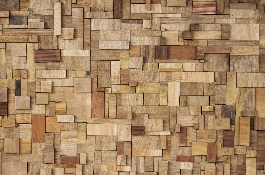 3d自然之木纹理客厅背景墙