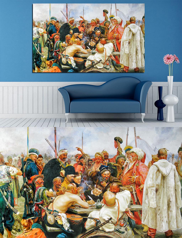 高清手绘欧式古典写实风格战争骑士油画