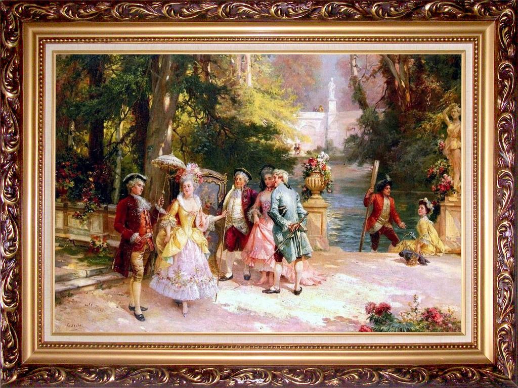 欧式油画高清图片下载(图片编号12711607)人物油画