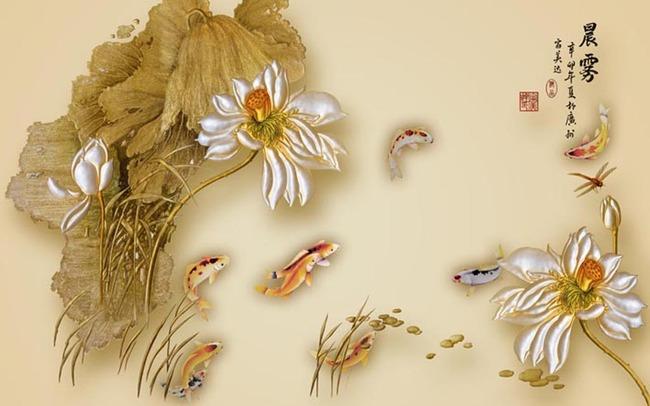 3d手绘莲花