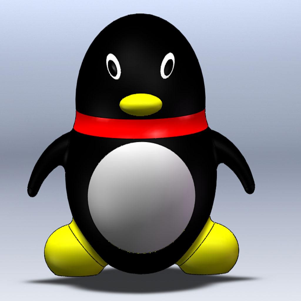 标准qq企鹅头像