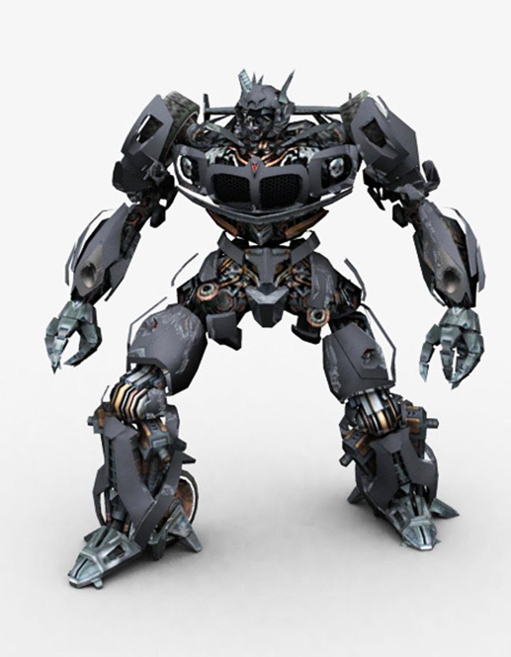 变形金刚机器人3dMax模型模板下载(图片编号