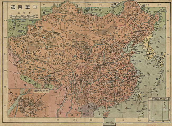 中国地图模板下载(图片编号:12735856)