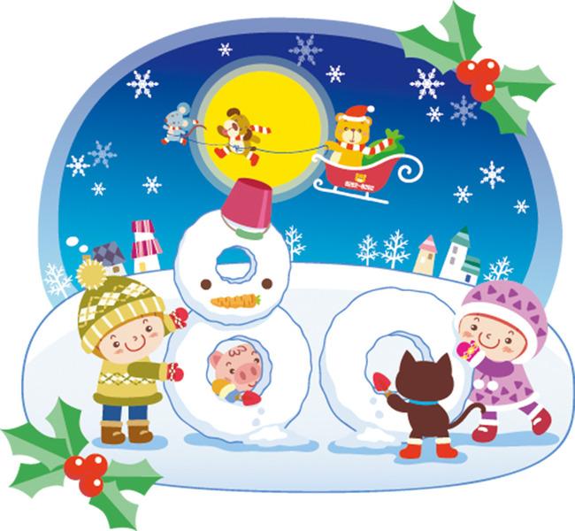 幼儿园圣诞元旦手工制作背景墙