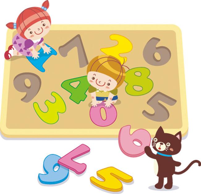 儿童卡通幼儿园教育教学