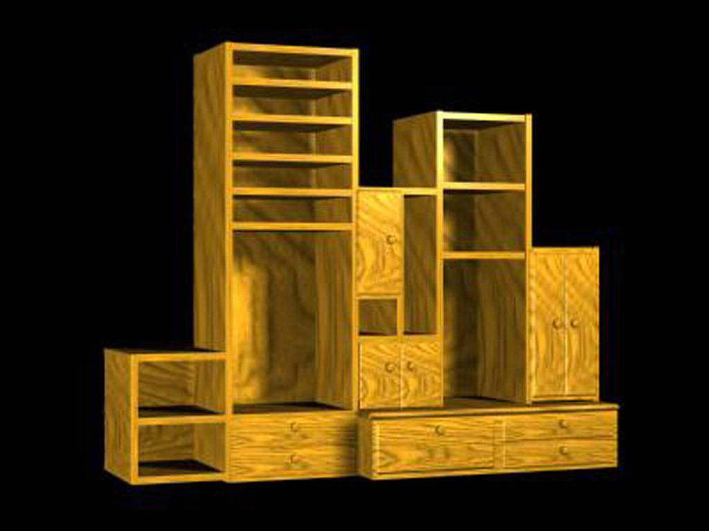 3d模型 室内设计3d模型 单体模型 > 中式音响柜组合柜  下一张&