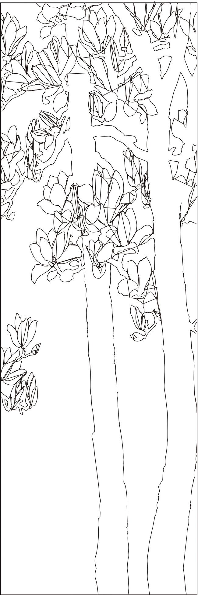 > 银杏树背景
